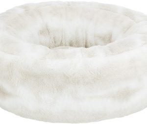 Trixie hondenmand nelli rond wit / taupe