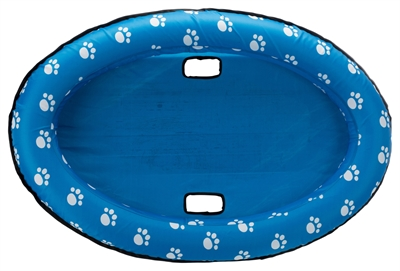 Trixie rubber boot dinghy blauw