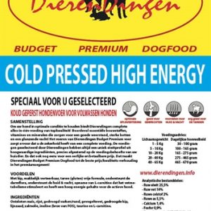Budget premium dogfood cold pressed high energy