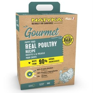 Natyka gourmet puppy poultry