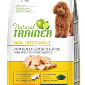 Natural trainer dog adult mini chicken / rice